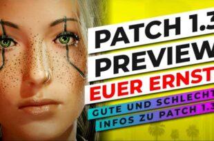 Cyberpunk 2077 Patch 1.3 Notes
